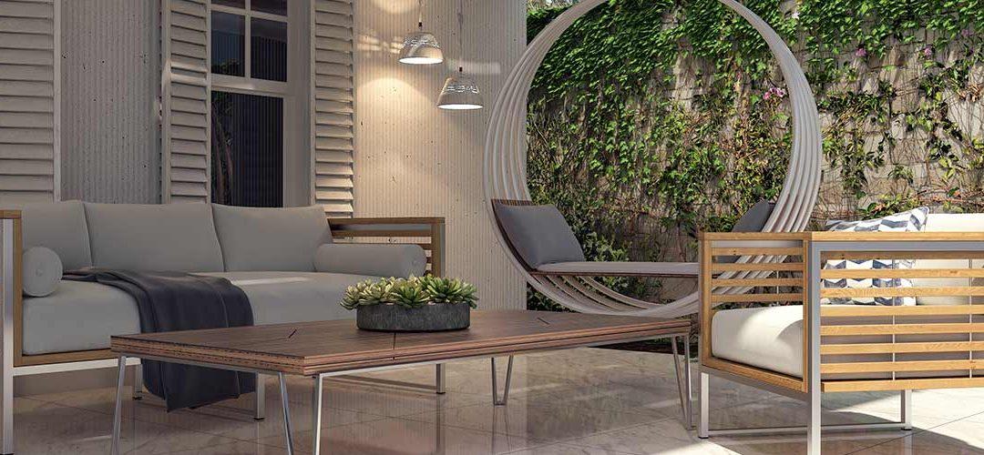 Moderne Funktionalität von Lounge- & Gartenmöbeln